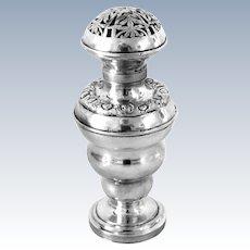 Antique Silver Judaica Besamim Havdalah Box 19th Century