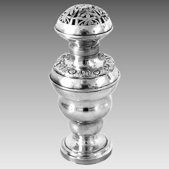 Antique Silver Judaica Besamim Havdalah Box