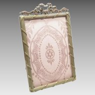 Bronze Picture Frame French Antique Circa.1890
