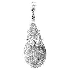 Platinum Diamond Watch Vacheron & Constantin Antique