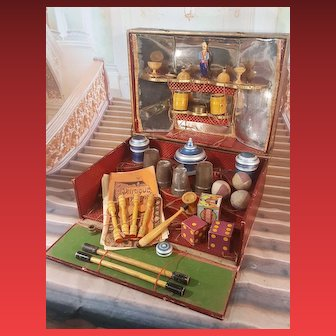 All original french ,,Physique,, magic  toy box