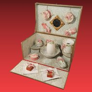 All original french toilette set in original box