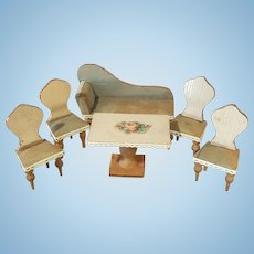 Rar antique small furniture seating group