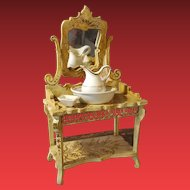 Antique Doll Basin/toilette