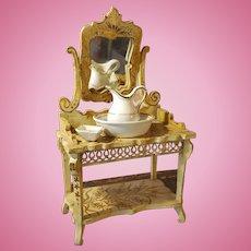 Antique Doll Basin/toilette