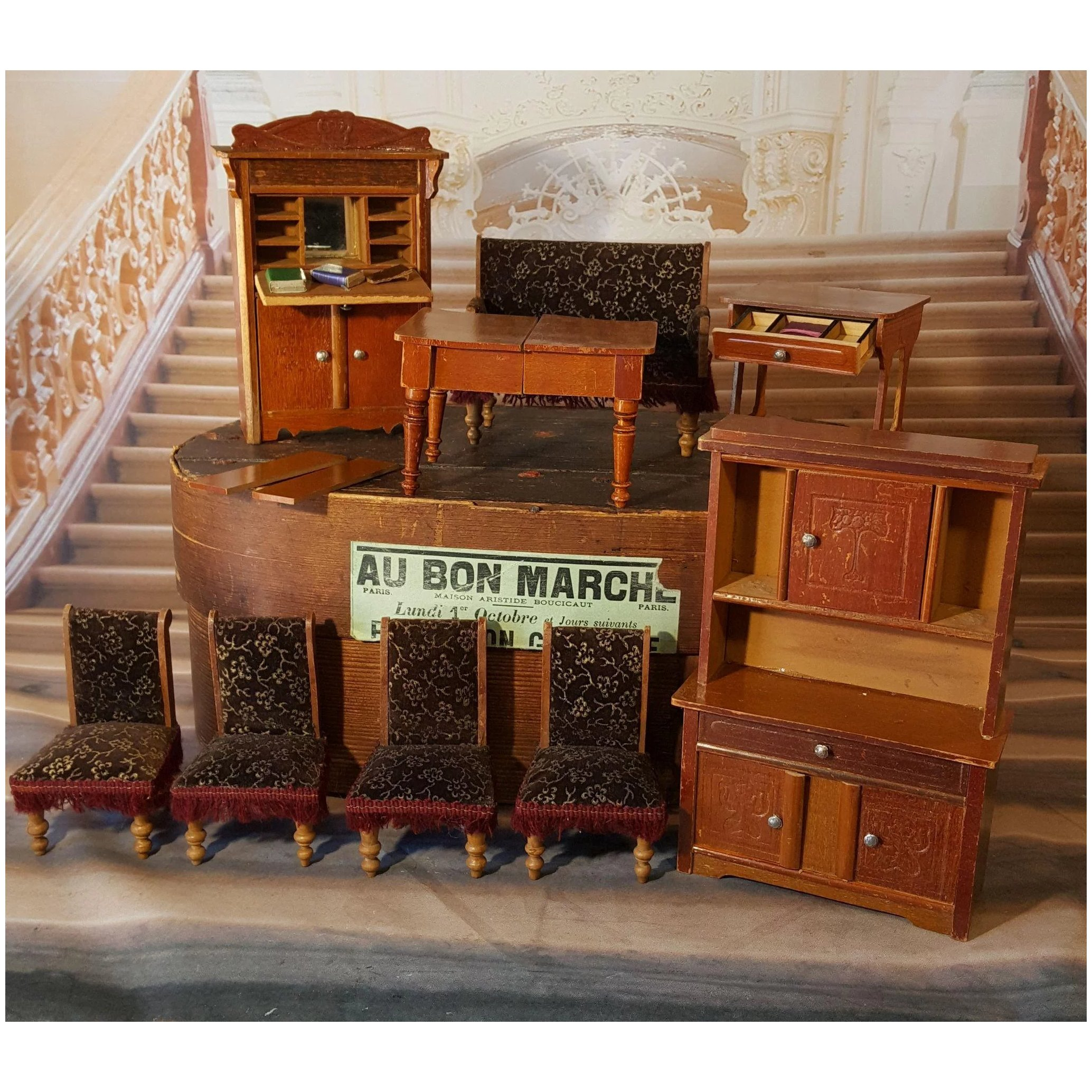 Antique Dolls House Furniture Cheap Toys Kids Toys
