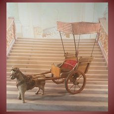 Wonderful Horse with Carriage for mignonettes