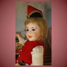 Sweet sfbj doll in antique dress