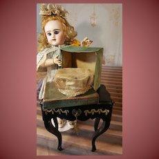 Original doll Hat in antique box