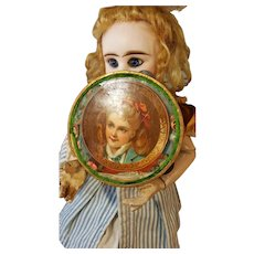French tambourine for dolls