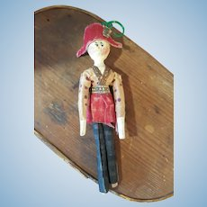 German Wooden doll for the french market