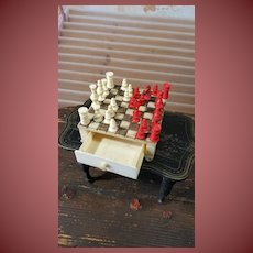 Rar doll chess very tiny