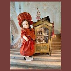 French doll showcase 1890paris