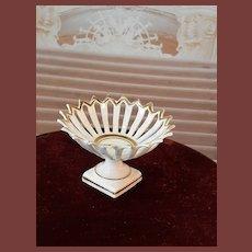 French miniature porcelain fruit bowl