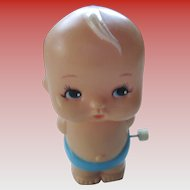 1977 Tomy Kiwi Hard Plastic Walking Doll