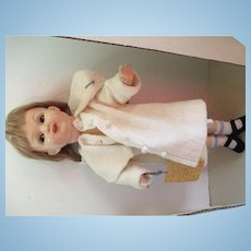 "Kammer/Reinhardt 18"" Flirty Eyes Celluloid Doll"