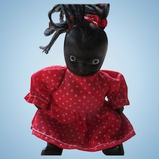 Black Jointed China Doll