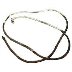 Gold 14kt Chain Cobra Style (Snake)