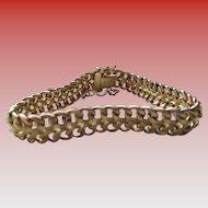 14 kt Italian Gold Foxtail Bracelet