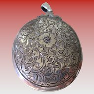 Sterling 925 Silver 1900s Locket