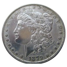 Morgan 1879 Silver Dollar