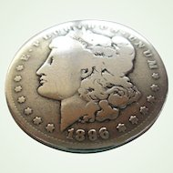 Morgan 1896 Silver Dollar