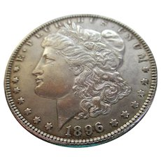 Morgan 1896 Silver Dollar