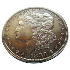 Morgan 1880 Silver Dollar