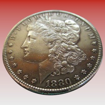 Morgan 1880 Silver Dollar