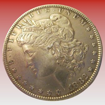 Morgan 1882 Silver Dollar