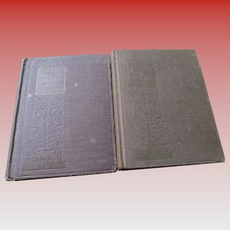 1928-1931 Pair of The Golden Treasures Poems