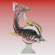 Murano R.I. Co Venetian Glass Fish