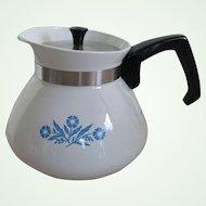 "Corning Ware ""Cornflower""  6cup Teapot"