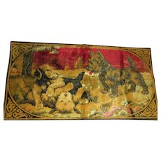 Collectable  Playful Scotties Tapestry