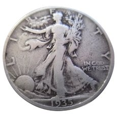 1935 Walking Liberty Half Dollar