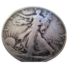 1940 Walking Liberty Half Dollar