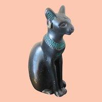 1986 TFM Metal Figural Egyptian Sitting Cat