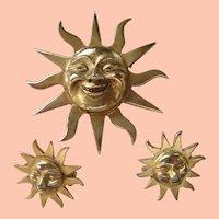 Alva's Museum Replica Brusting Sun Set Pins