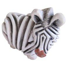 Rinconada Uruguay Earthenware Zebra