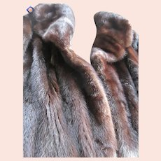Mink Full Length (Ranch) Sable Brown Coat