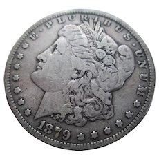 1879 Morgan Silver Dollar (S) VG
