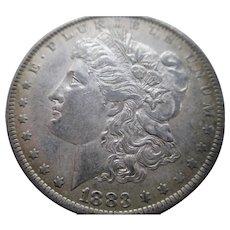 1883. Morgan Silver Dollar (O)