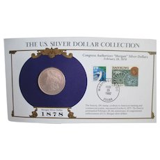 Silver 1878 Morgan Dollar