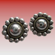 Silver 925 Clip On Earrings
