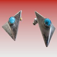 925-Silver /Turquoise Post Earrings