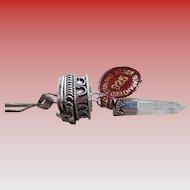 925/Silver Square Prayer Box Pendant and Chain