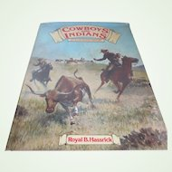 """1976 """"Cowboys and Indians"""" Illustrated History/Book"""