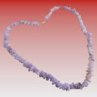 Amethyst/ Natural Stone Necklace