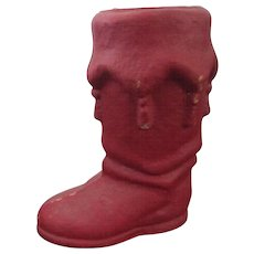 "Christmas 7 1/2"" Red Pulp Boot"