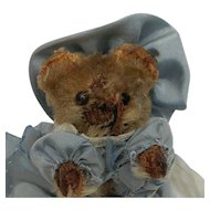 Oh no!  Loved to Death Little Vintage Schuco Teddy Bear